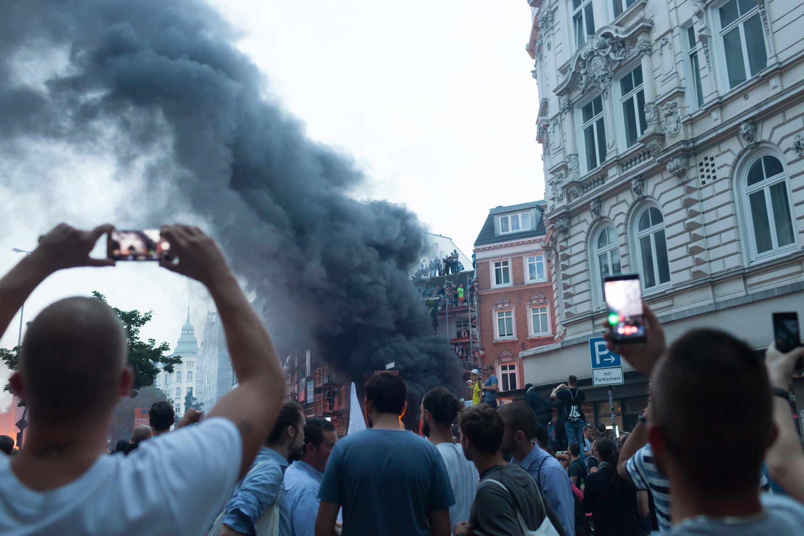 G20 Gipfel Hamburg Gewalt der Bilder
