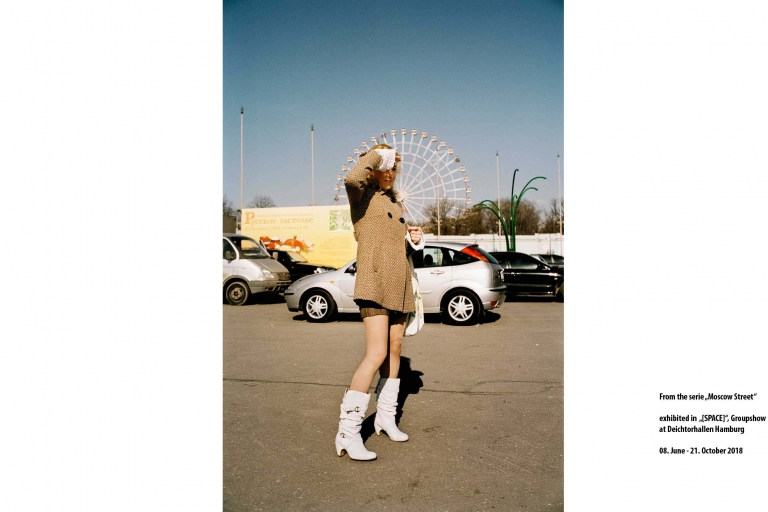Herzau; Moscow; Streetphotografie; SPACE; Ausstellung; Deichtorhallen; Triennale Photographie; Buch