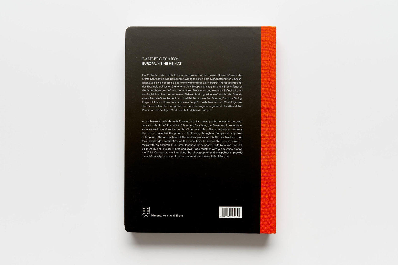 Andreas Herzau Bamberg Diary 1 Nimbusbooks Bamberger Symphoniker