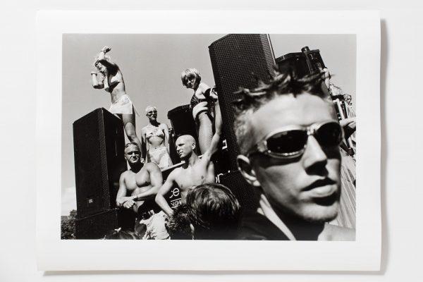 Vintage Print Love Parade 90th Herzau