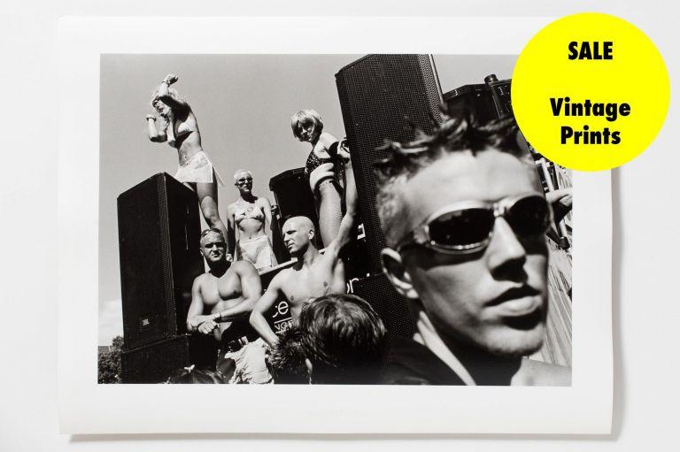 Love Parade, Techno, Vintage Print, Herzau, Silver-Gelantine
